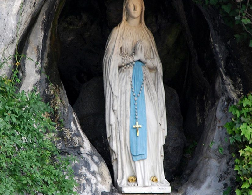 Our Lady of Lourdes.  Day of Prayer for the Sick.