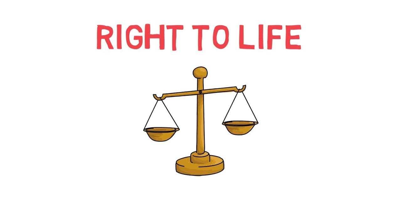 death penalty the law and the right to life.  LENT DAY 18