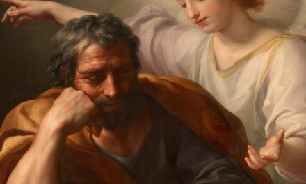 "ST JOSEPH,""A FATHERIN THE SHADOWS"" LENT DAY 31"