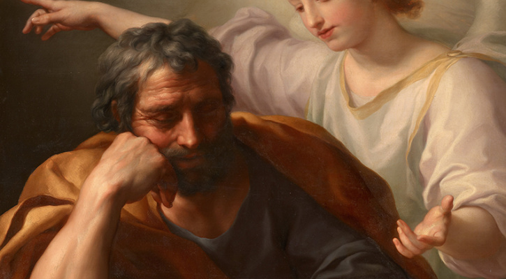 """ST JOSEPH,""""A FATHERIN THE SHADOWS"""" LENT DAY 31"""