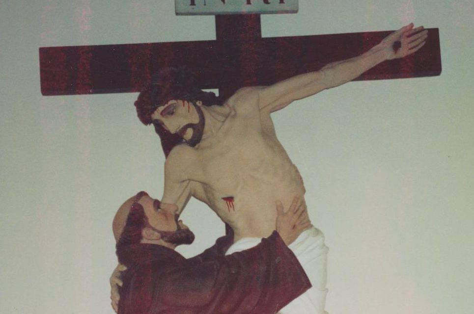 GOOD FRIDAY WITH JESUS AND ST FRANCIS