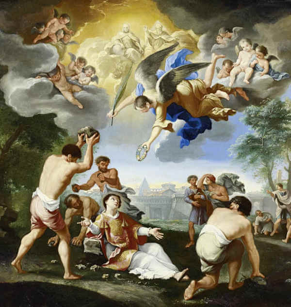 STEPHEN THE FIRST MARTYR PROCLAIMED GOD'S GLORY
