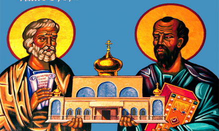 ST PETER AND PAUL, COMPANION MISSIONARIES